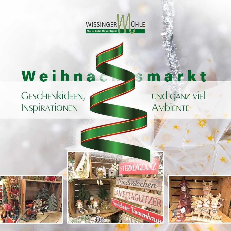 Weihnachtsmarkt 2020 in der Wissinger Mühle in Wissingen